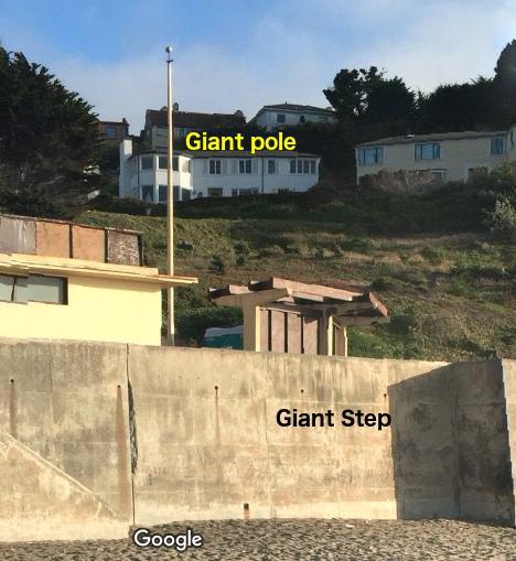 giant pole giant step